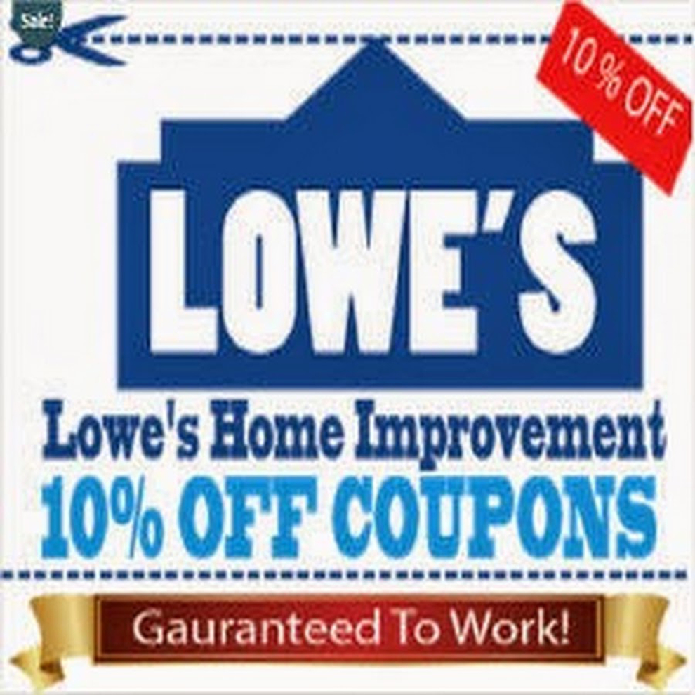 Printable Lowes Coupon 20% Off &10 Off Codes December 2016 - Free Printable Lowes Coupon 2014