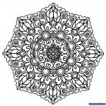 Printable Mandala Coloring Pages   Lezincnyc   Free Printable Mandala Coloring Pages