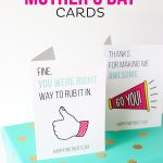 Printable Mother's Day Cards   Free Printable Mother's Day Games