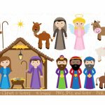 Printable Nativity Scene   Printable 360 Degree With Free Printable   Free Printable Nativity Scene Pictures