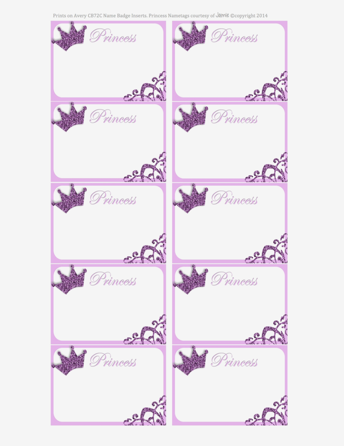 Printable Out Of Service Tags Princess Labels Free Printable Kids - Free Printable Out Of Service Sign