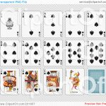 Printable Playing Cards Clipart   Free Printable Deck Of Cards