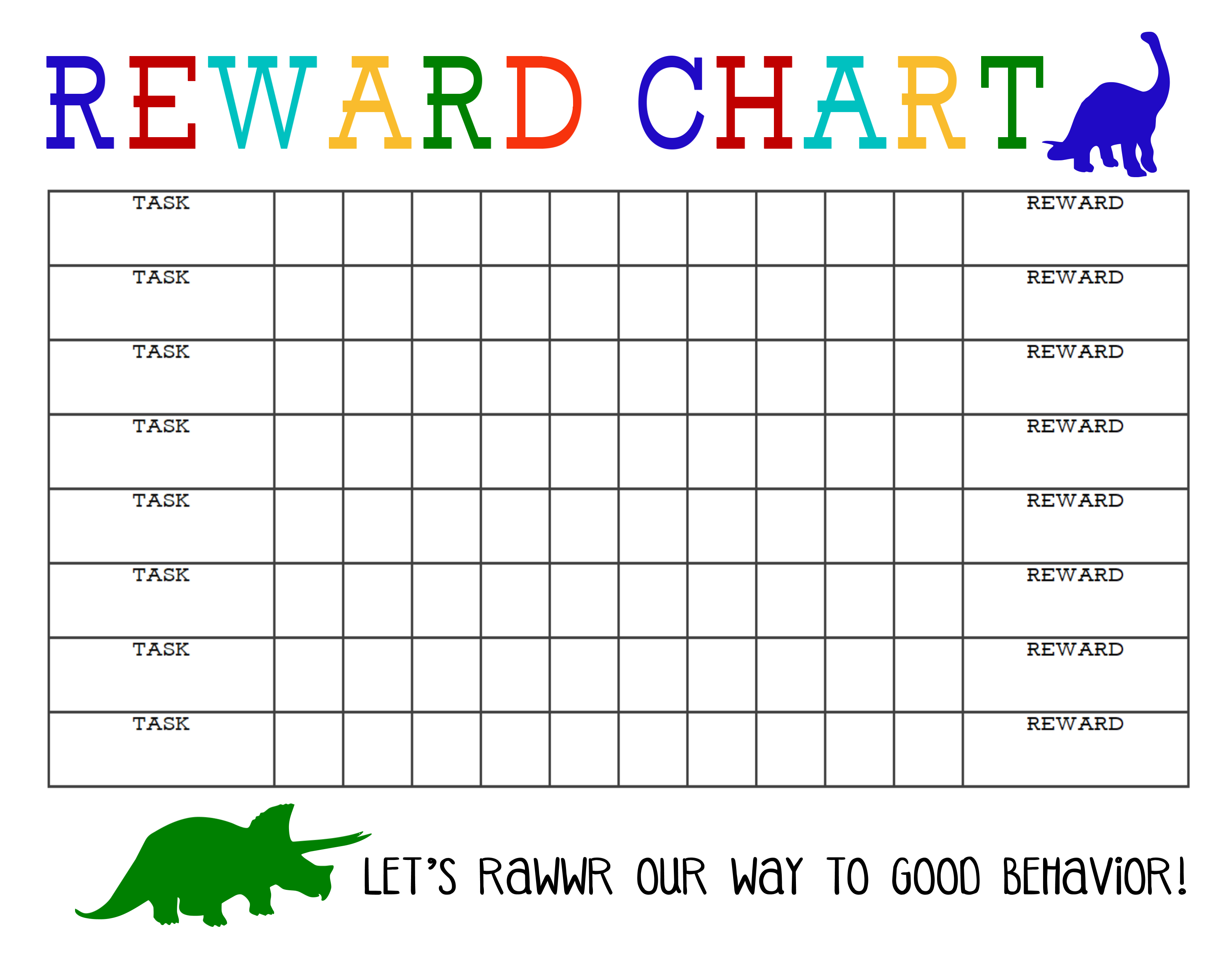 Printable Reward Chart | Chore Chart | Pinterest | Reward Chart Kids - Free Printable Incentive Charts For Students