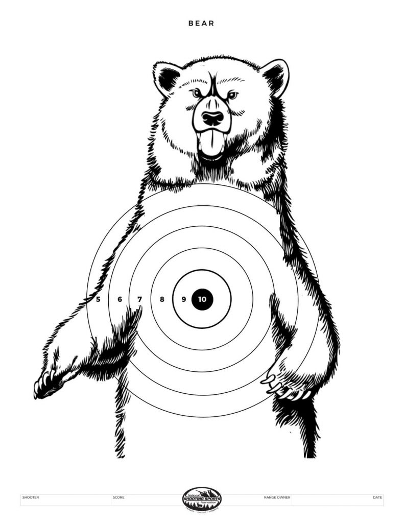 Printable Shooting Targets And Gun Targets • Nssf - Free Printable Targets For Shooting Practice