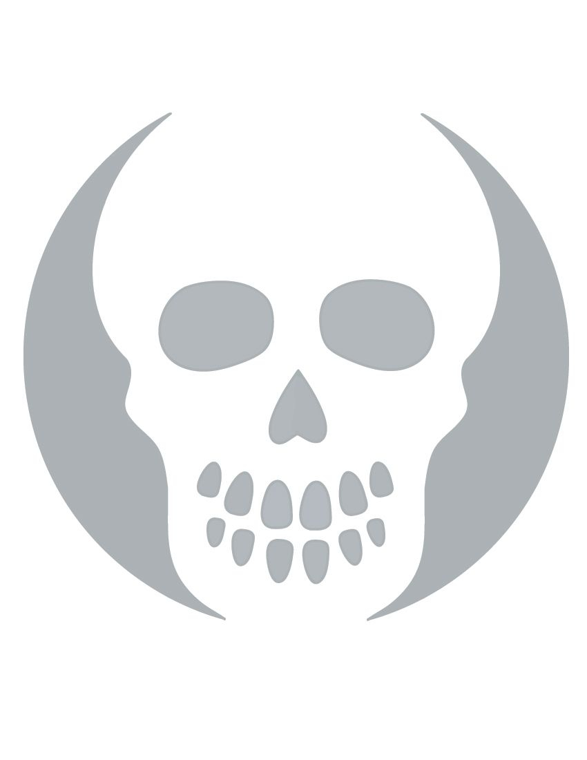 Printable Skull Stencil Coolest Free Printables | Halloween - Skull Stencils Free Printable