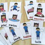 Printable Spanish Flashcards: Spanish Verb Flashcards Intended For   Free Printable Spanish Verb Flashcards