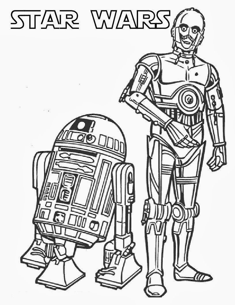 Printable Star Wars Coloring Pages | Coloring | Pinterest - Free Printable Star Wars Coloring Pages