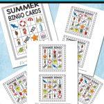 Printable Summer Bingo Game For Kids   Itsy Bitsy Fun   Free Printable Summer Games