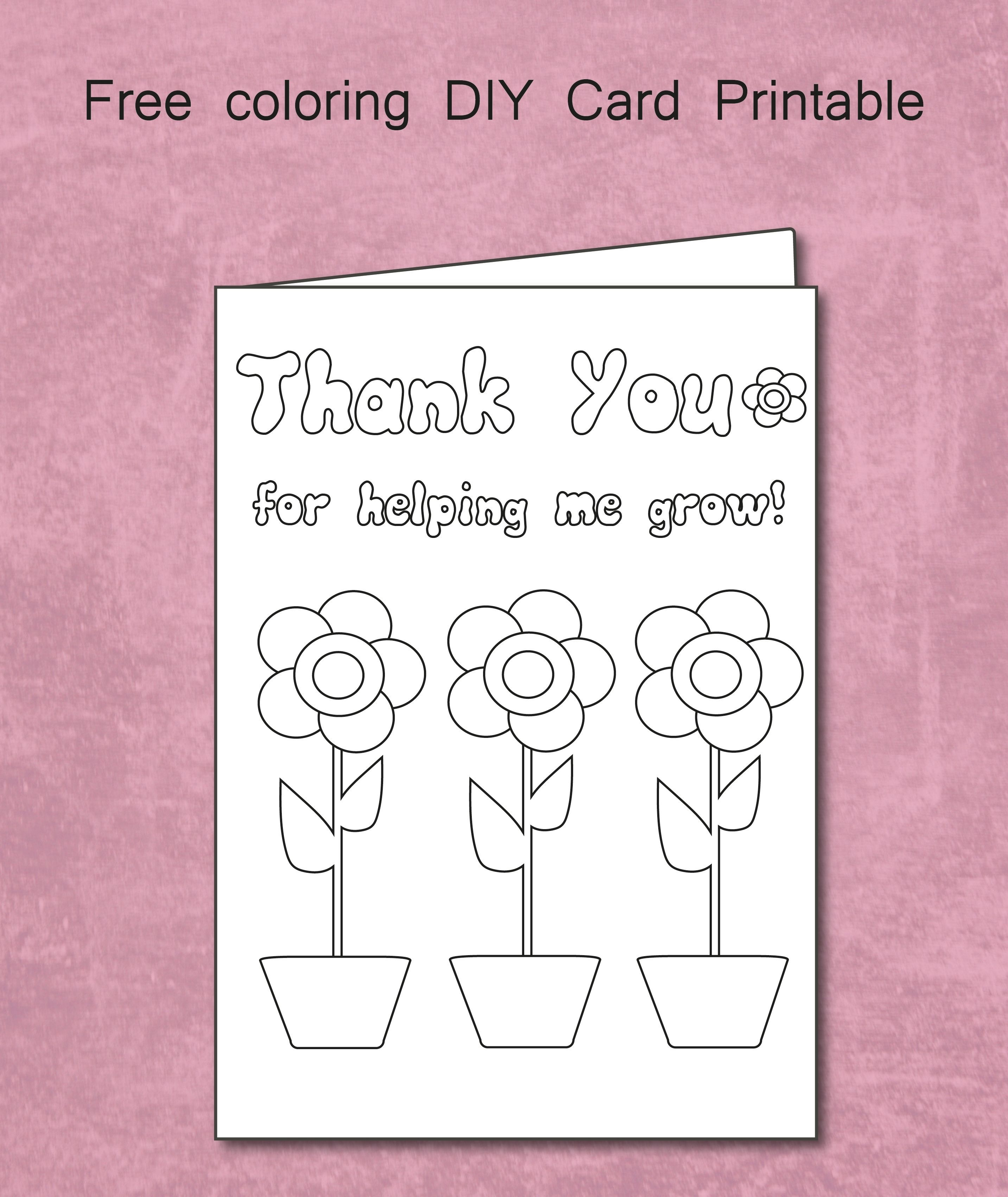 Printable Thank You Cards Teacher | Bestprintable231118 - Free Printable Thank You Cards For Teachers