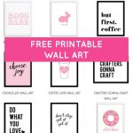 Printable Wall Art   Print Wall Decor And Poster Prints For Your   Free Printable Wall Art Decor