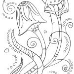 Psychedelic Mushrooms Coloring Page | Free Printable Coloring Pages   Free Printable Mushroom Coloring Pages