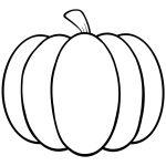 Pumpkin Coloring Pages   Coloring Page   Pinterest   Pumpkin   Free Printable Pumpkin Coloring Pages