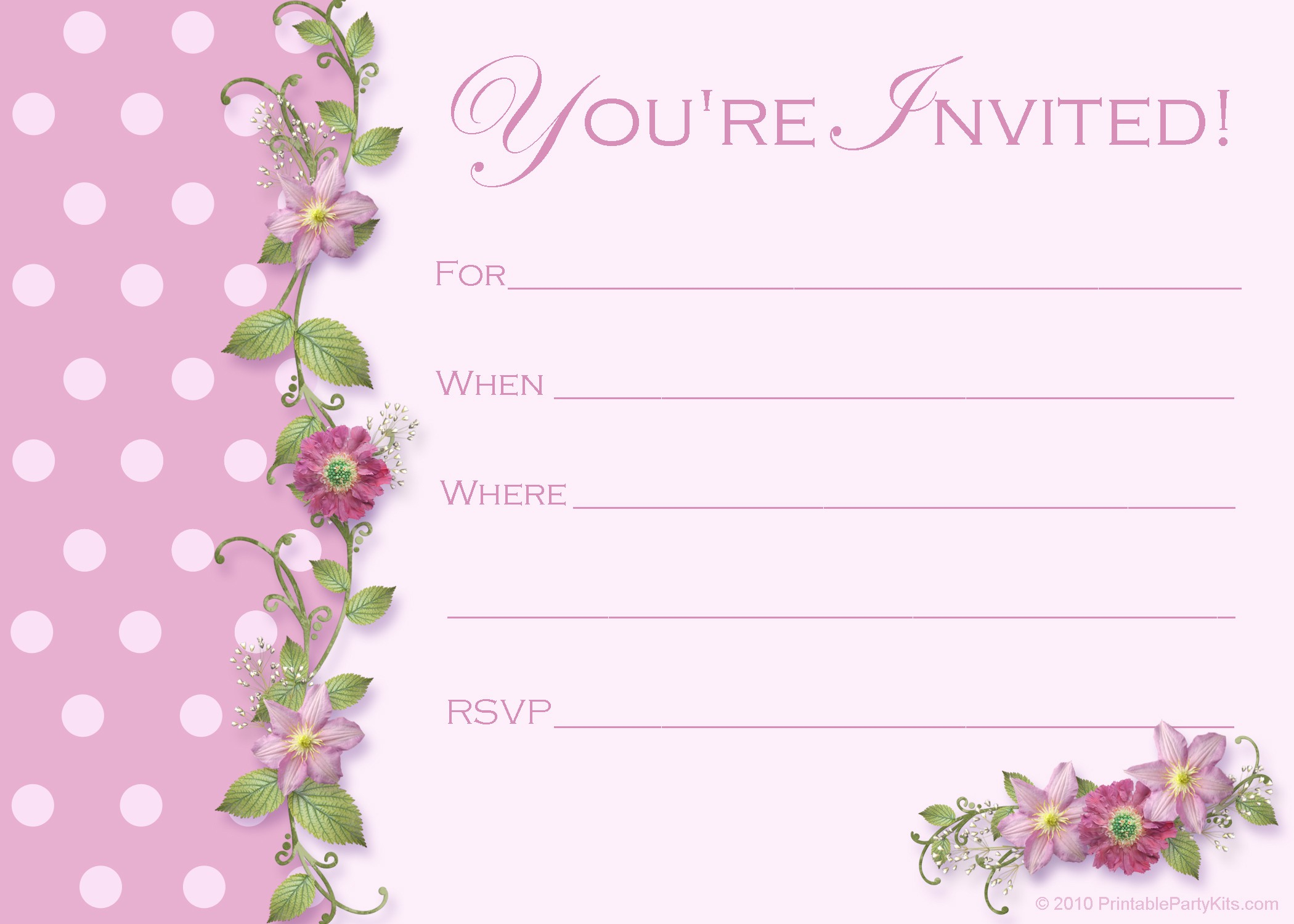 Quinceanera Invitations Templates For Free - Yourweek #547Dddeca25E - Free Printable Quinceanera Invitations