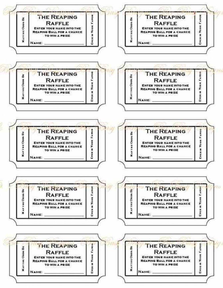 Raffle Ticket Numbering Free Printable Raffle Ticket Template - Free Printable Raffle Ticket Template