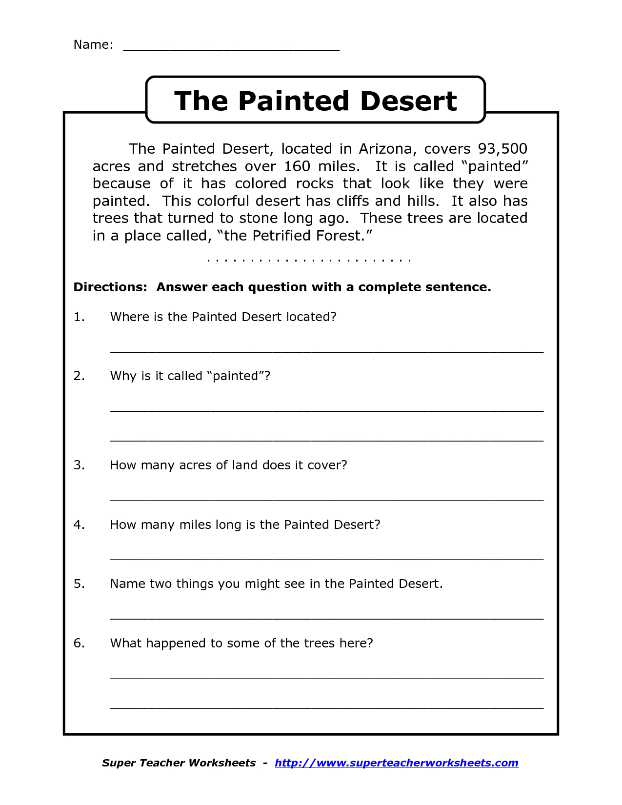 Reading Worksheets For 4Th Grade | Reading Comprehension Worksheets - Free Printable Reading Comprehension Worksheets Grade 5
