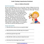 Reading Worksheets | Second Grade Reading Worksheets   Free Printable Short Stories For 2Nd Graders
