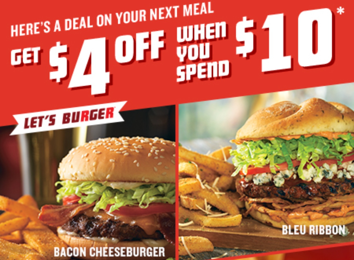 Red Robin Coupons Printable | Www.topsimages - Free Red Robin Coupons Printable