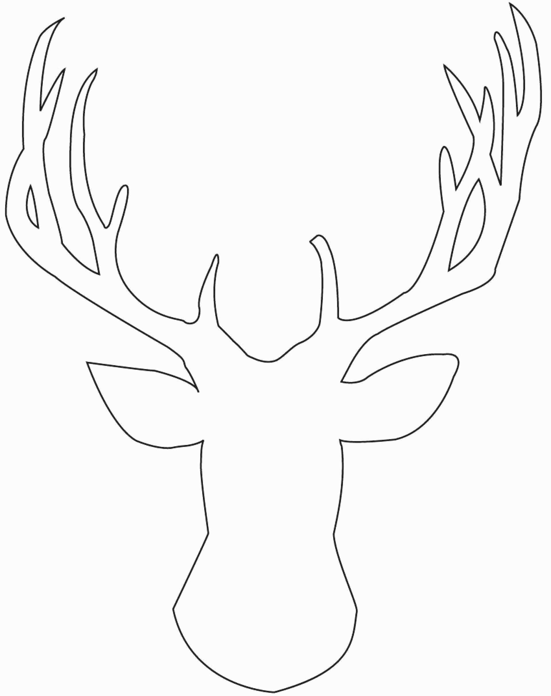 Reindeer Antlers Template Luxury Printable Arrowhead Template - Reindeer Antlers Template Free Printable