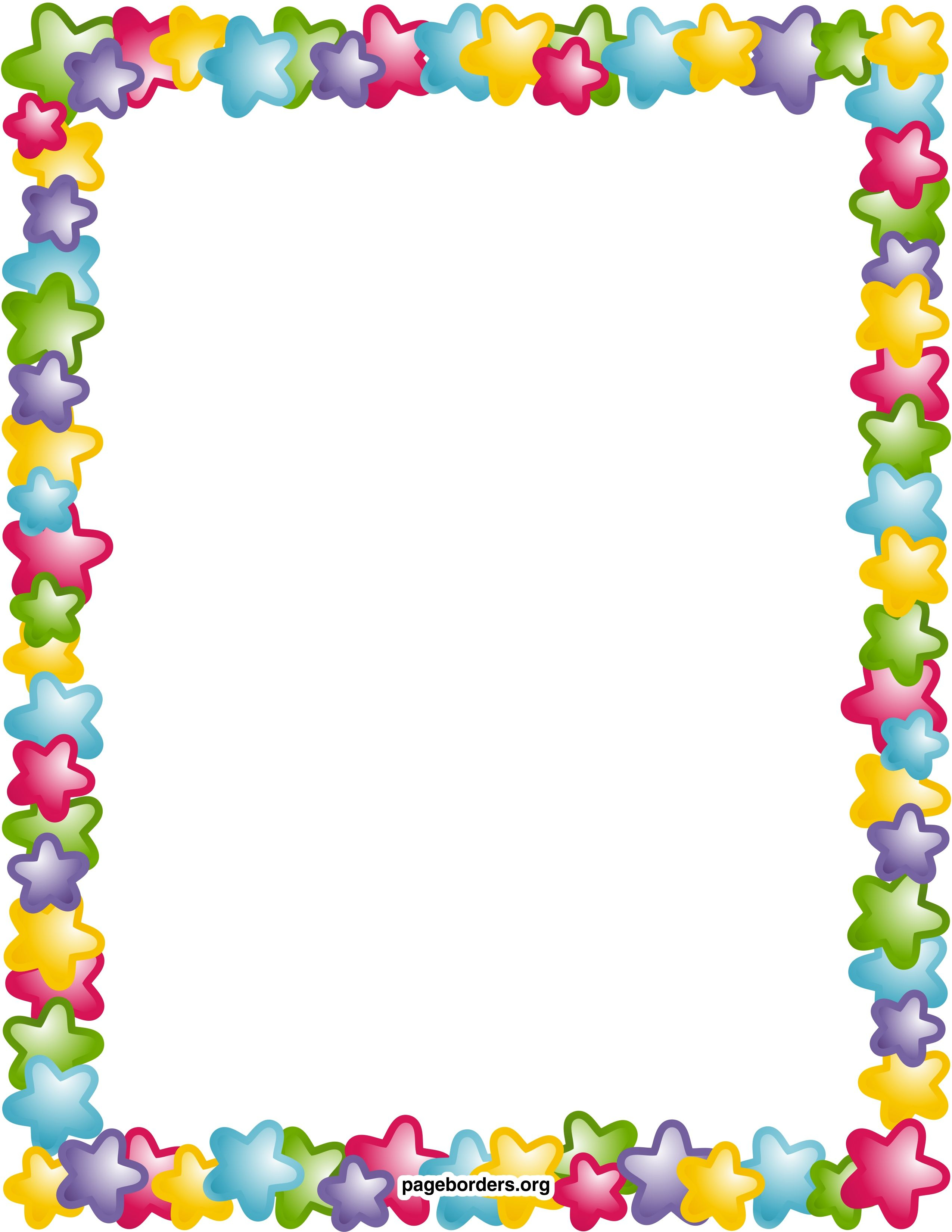 Remarkable Decoration Free Printable Borders And Frames Clip Art - Free Printable Borders And Frames