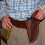 Restlessrisa: Cowboy Birthday Party Preparation {Part 1   The Holster}   Free Printable Holster Patterns