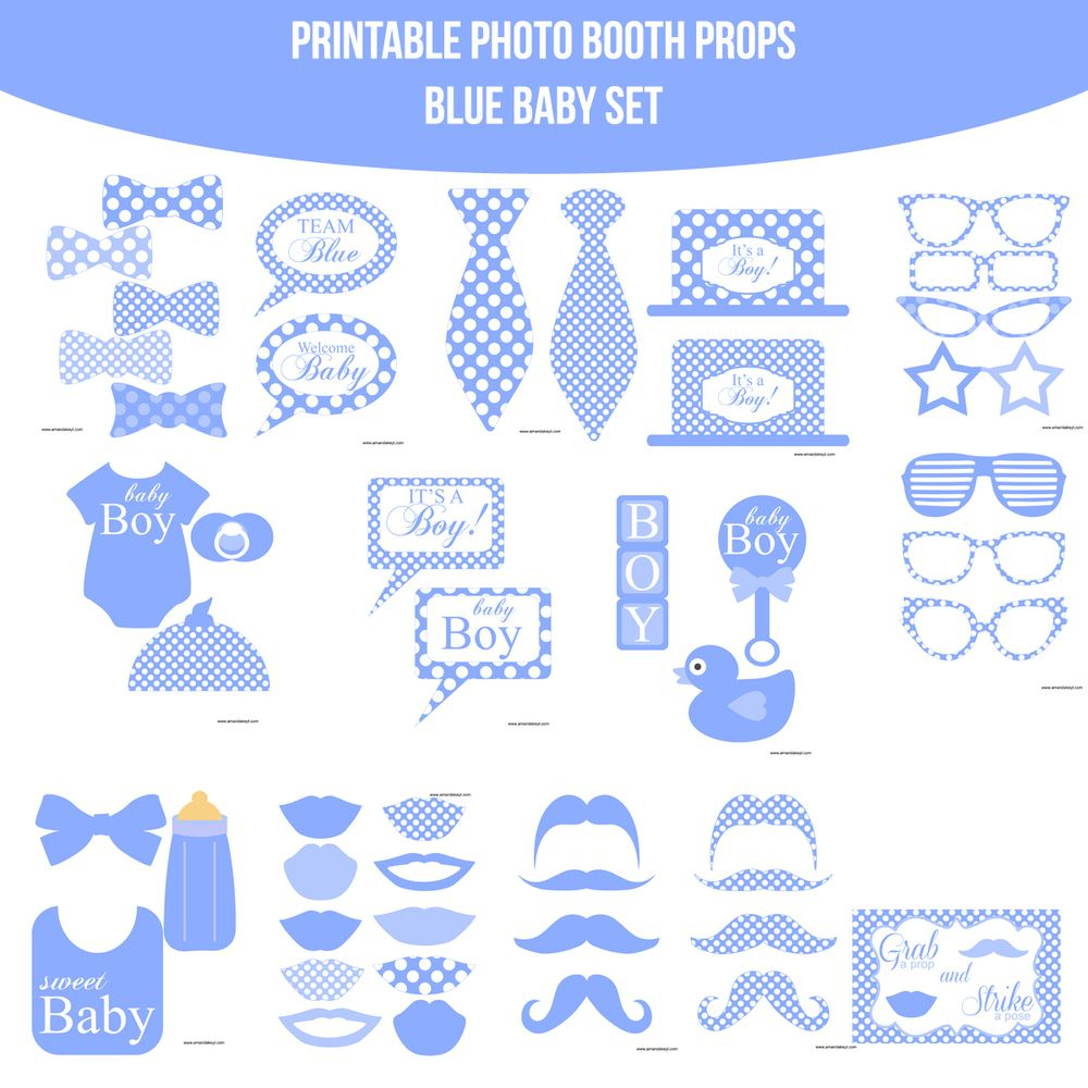 Résultats De Recherche D'images Pour « Free Printable Baby Shower - Free Printable Baby Shower Photo Booth Props