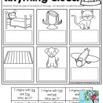 Rhyming Clues! Such A Fun And Effective Way To Read And Rhyme! Tons   Free Printable Rhyming Activities For Kindergarten