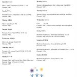 Rio Olympics Summer Games Gymnastics Events Tv Schedule   Free   Free Printable Summer Games