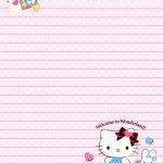 Sanrio   Hello Kitty   Memo Paper | Kitty & Sanrio | Pinterest   Free Printable Hello Kitty Stationery