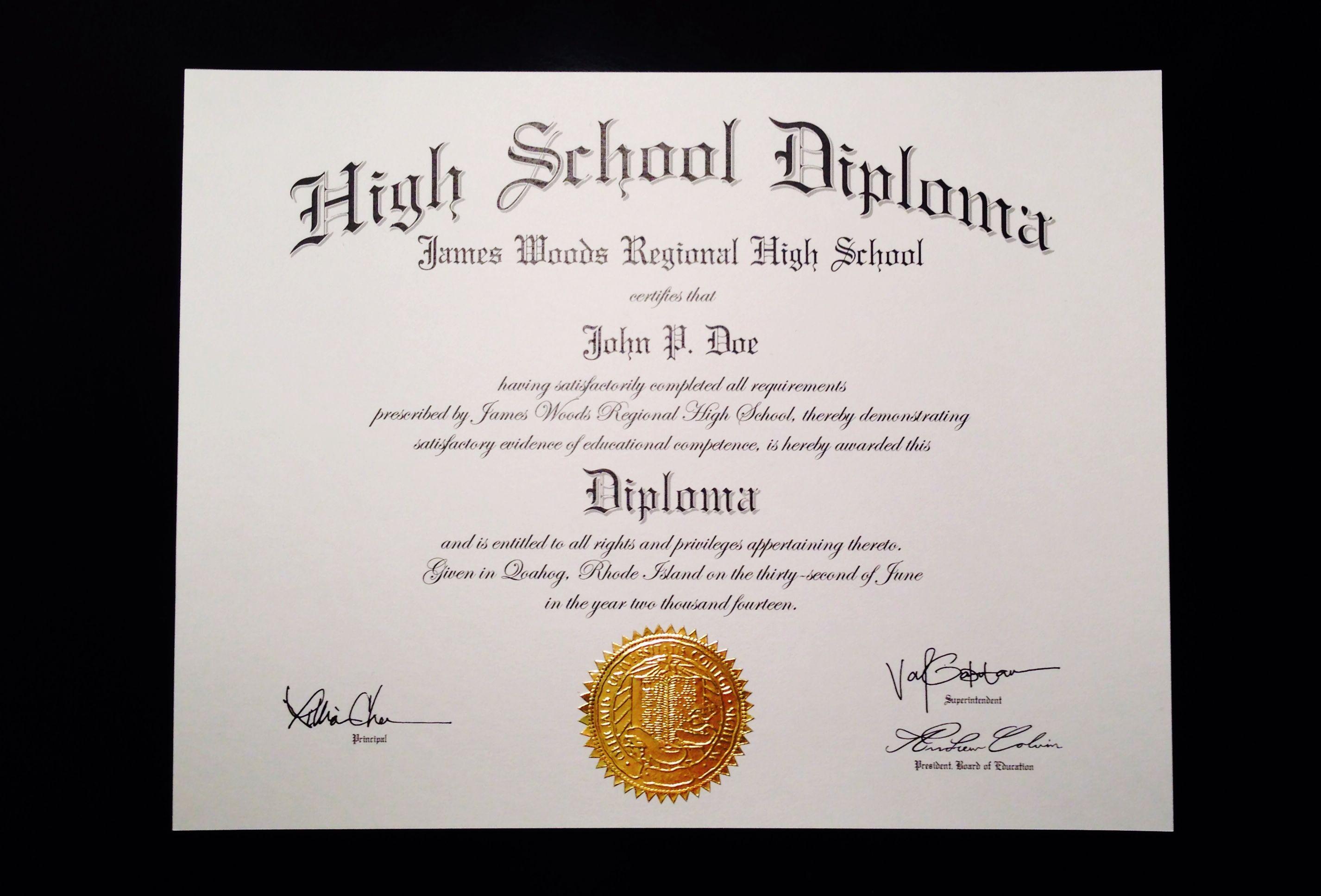 School Certificate Template Free Printable Certificates | Diploma - Printable Fake Ged Certificate For Free