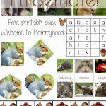 Science Activities For Preschoolers And Toddlers: Hibernation   Free Printable Hibernation Worksheets