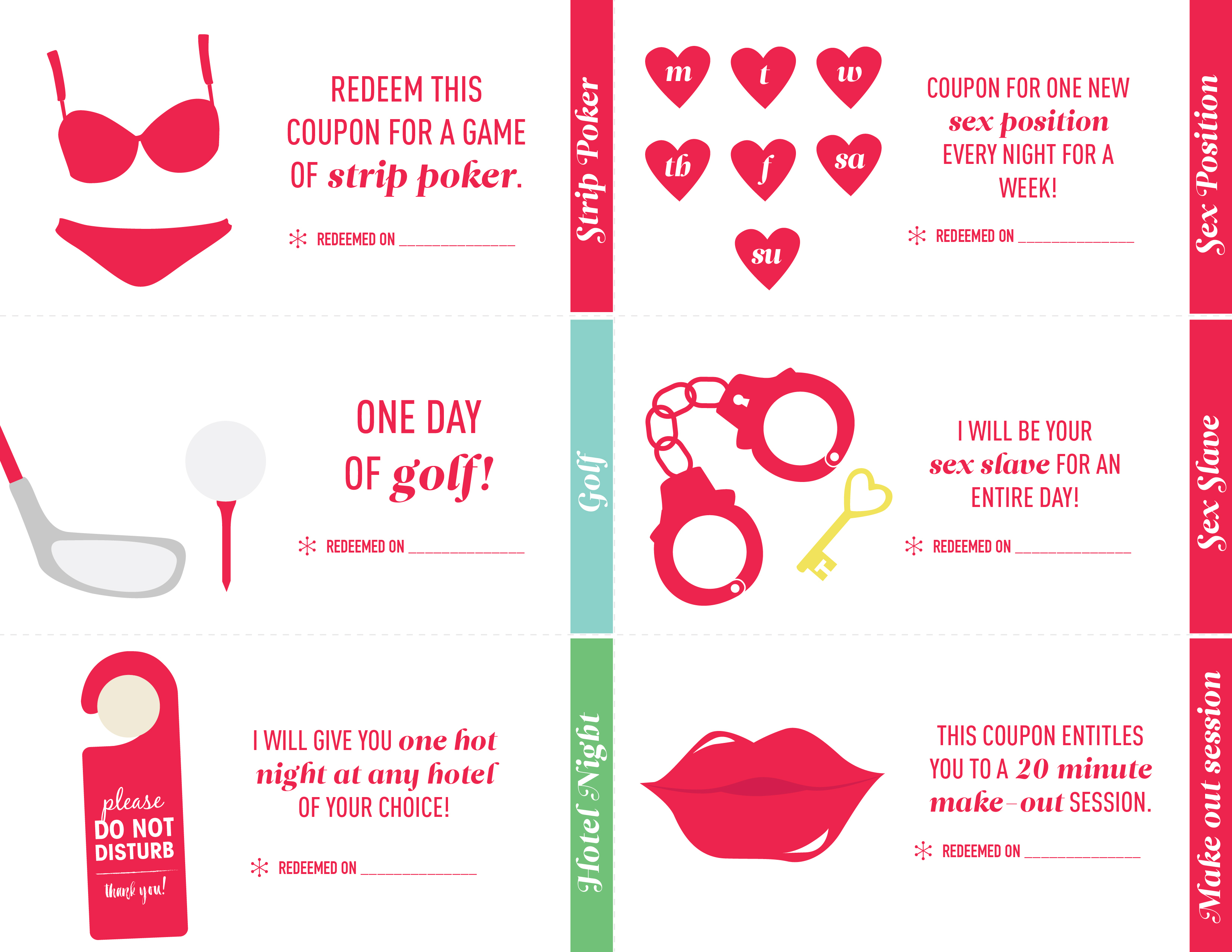 Sexual Coupon Book For Boyfriend Ideas : Harcourt Outlines Coupons - Free Printable Coupon Book For Boyfriend