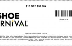 Shoe Carnival Coupons In Store (Printable Coupons) – 2019 – Free Printable Footlocker Coupons