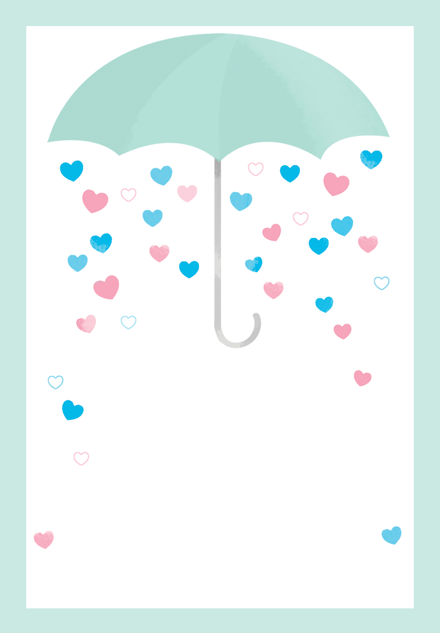 Shower With Love - Free Printable Baby Shower Invitation Template - Baby Shower Templates Free Printable
