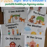 Sight Word Readers   Free Printable Pre K Reading Books