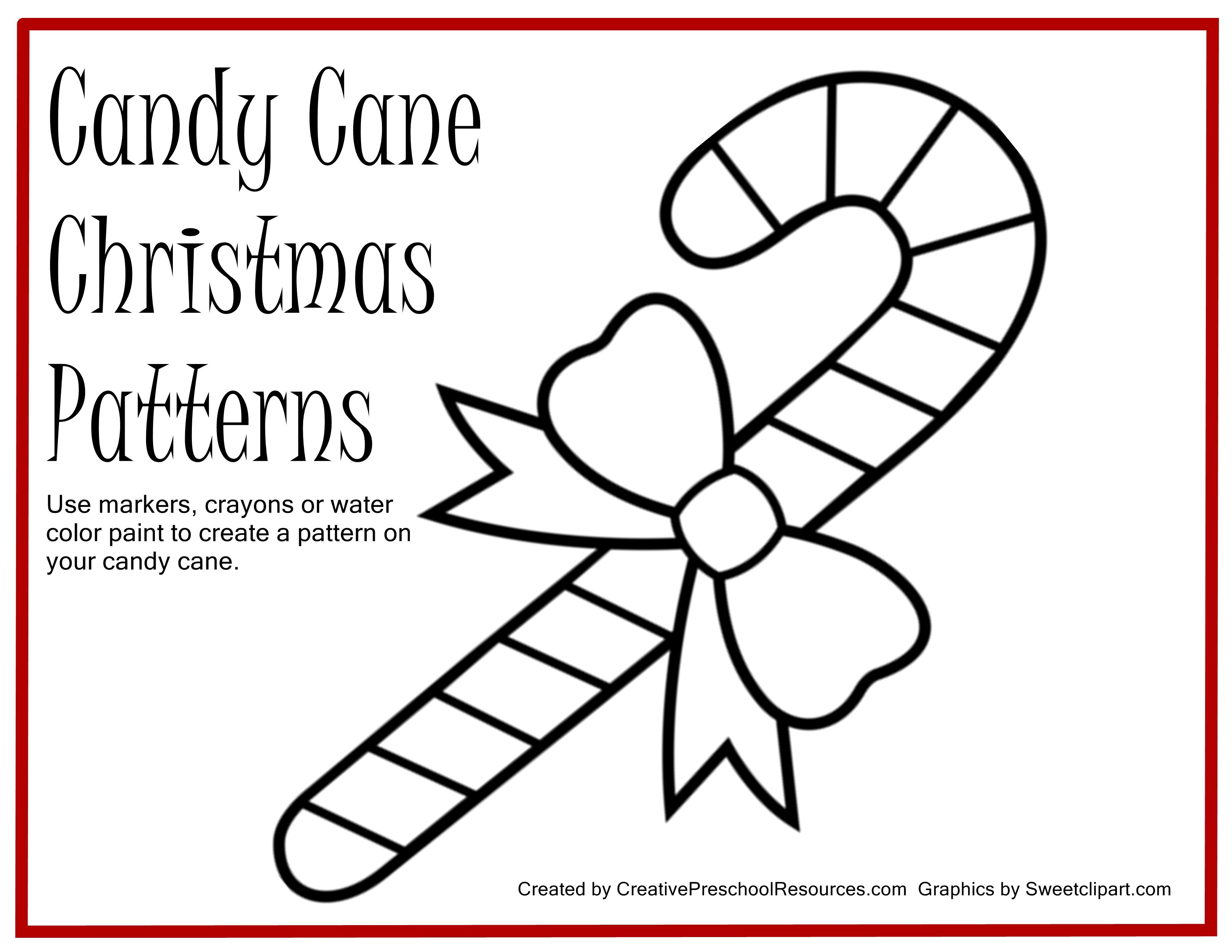 Simplified Candy Cane Printables Printable Coloring Pages Me Home #319 - Free Printable Candy Cane