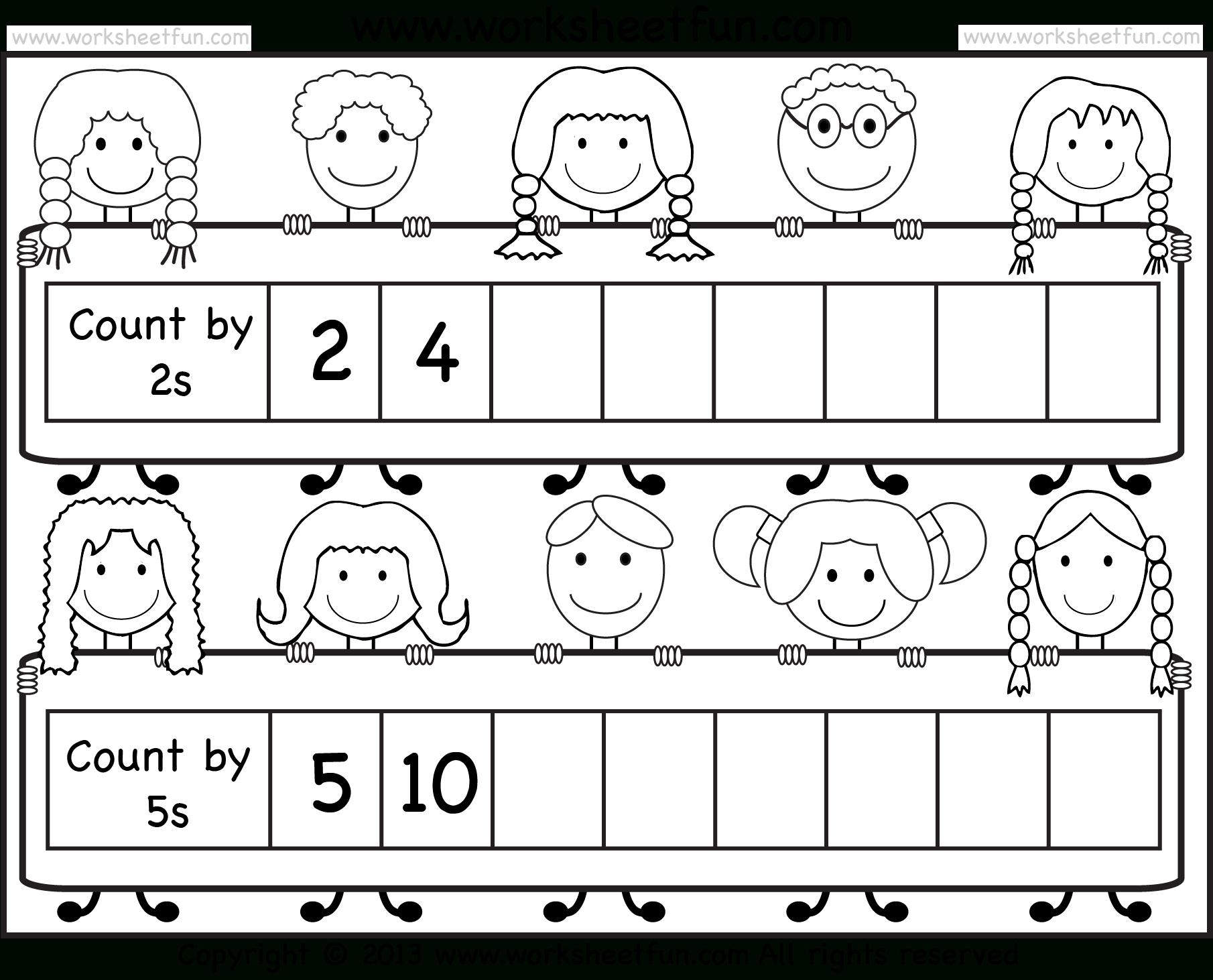 Skip Counting2 And 5 – Worksheet / Free Printable Worksheets - Free Printable Skip Counting Worksheets