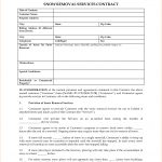 Snow Removal Contract Templates – Emmamcintyrephotography   Free Printable Snow Removal Contract