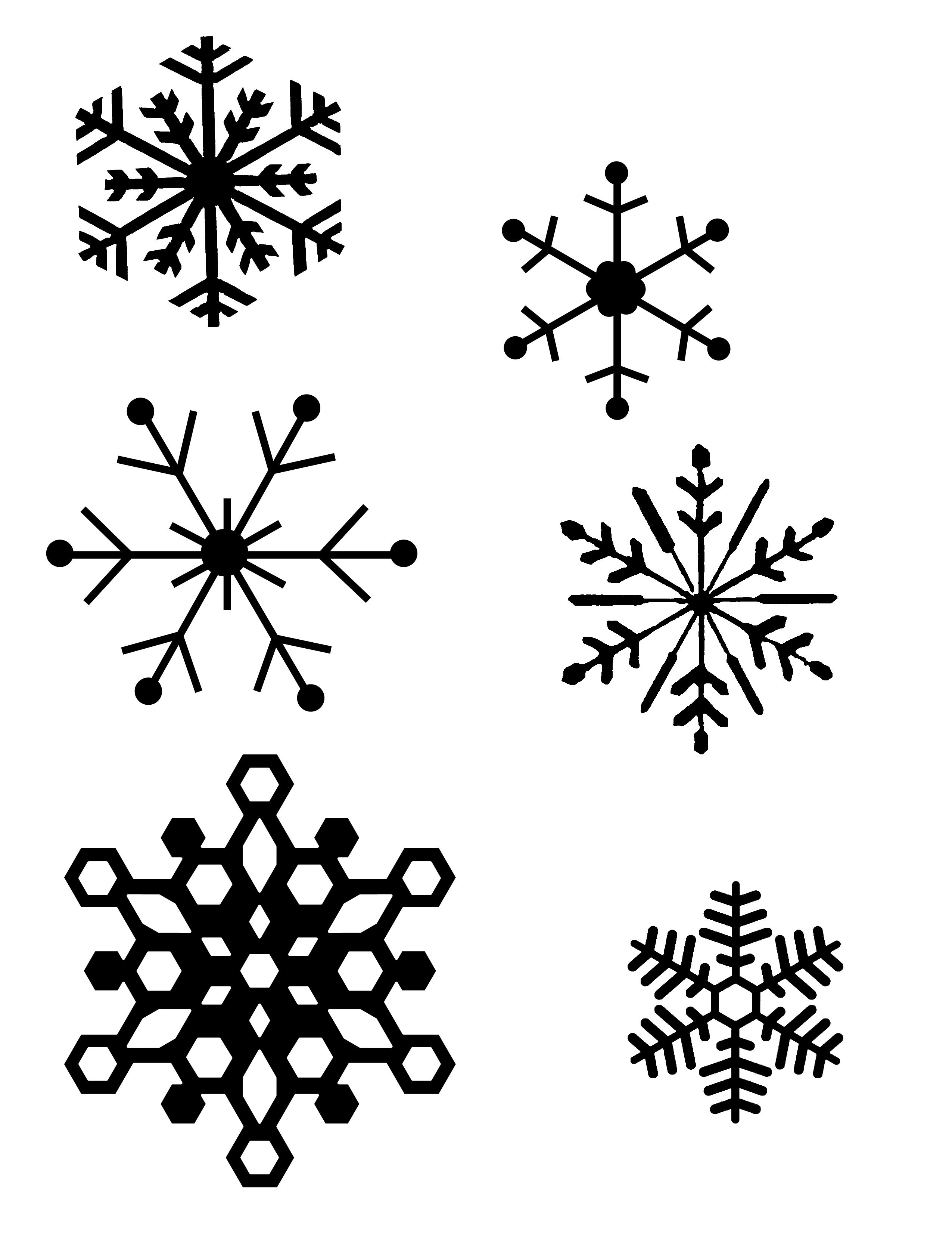 Snowflake Patterns | Polish - Ideas - Free Printable Snowflake Patterns
