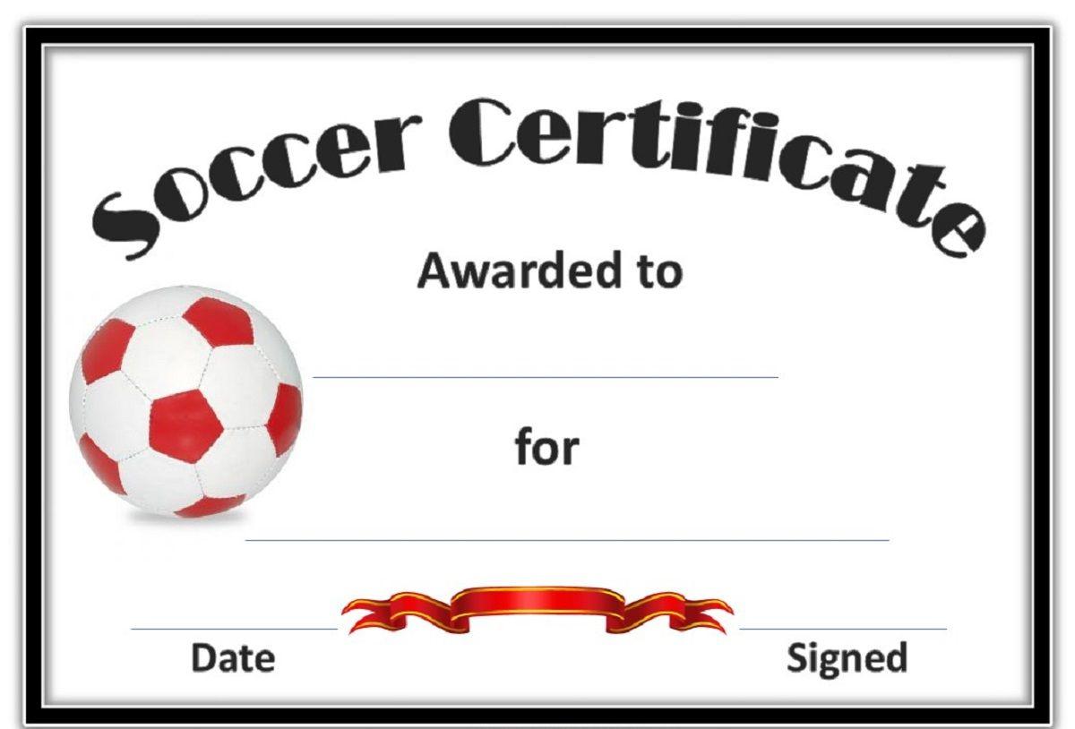 Soccer Award Certificates Template   Kiddo Shelter   Blank - Free Printable Soccer Certificate Templates