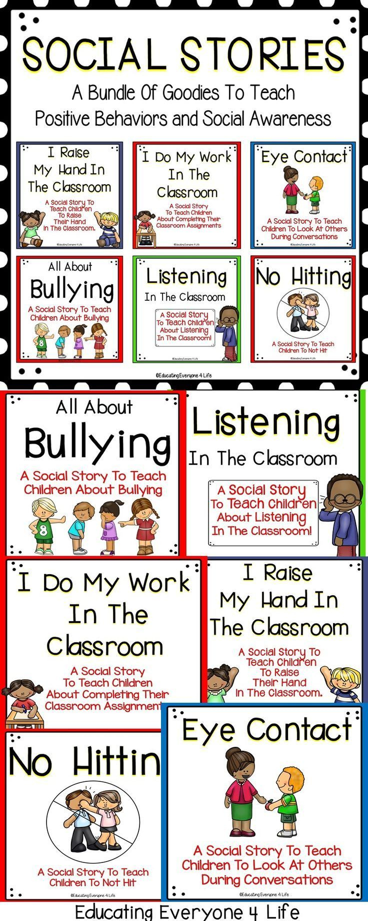 Socials Stories | Md: Free And Paid School Worksheets | Teaching - Free Printable Social Skills Stories For Children