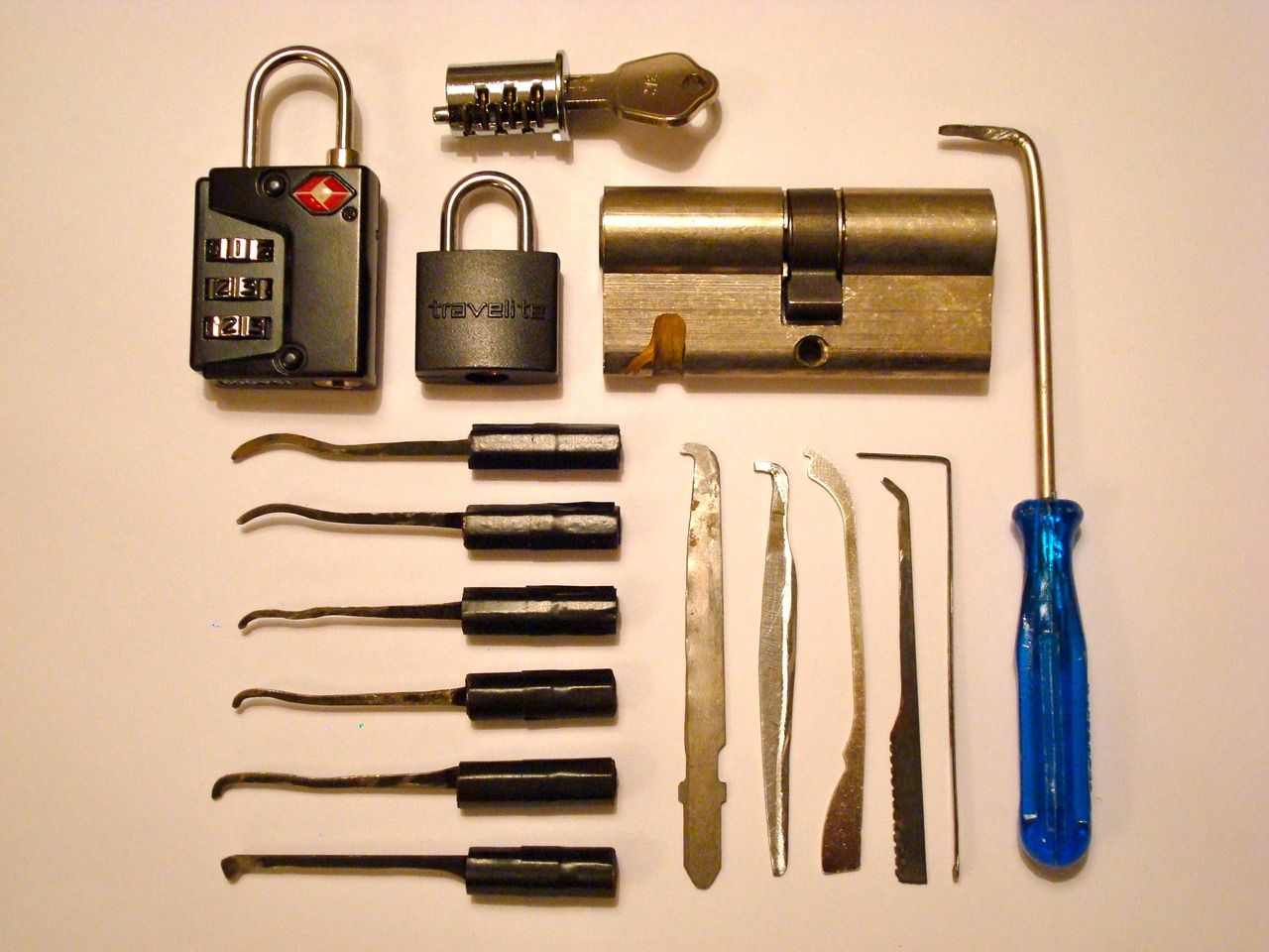 Some Homemade Lock Picking Tools, Submitted In A Photo To (The - Free Printable Lock Pick Templates