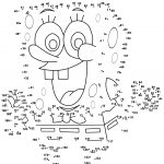 Spongebob Dot To Dot | Free Printable Coloring Pages   Free Printable Connect The Dots