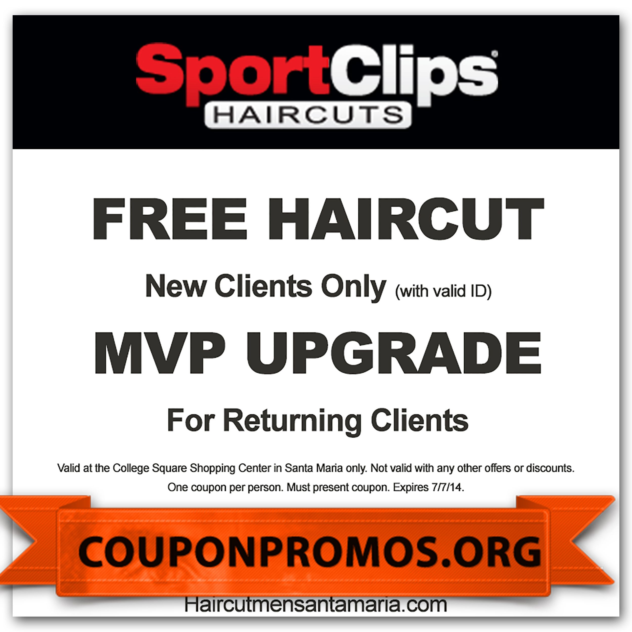Sports Clips Coupons For November December | Coupons For Free - Sports Clips Free Haircut Printable Coupon