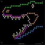 Square Lite Brite Design Refills: Dinosaurs | Grand Kids | Pinterest   Lite Brite Printable Patterns Free