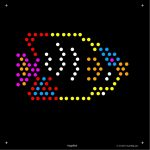 Square Lite Brite Design Refills: Under The Sea | Light Brite   Lite Brite Printable Patterns Free