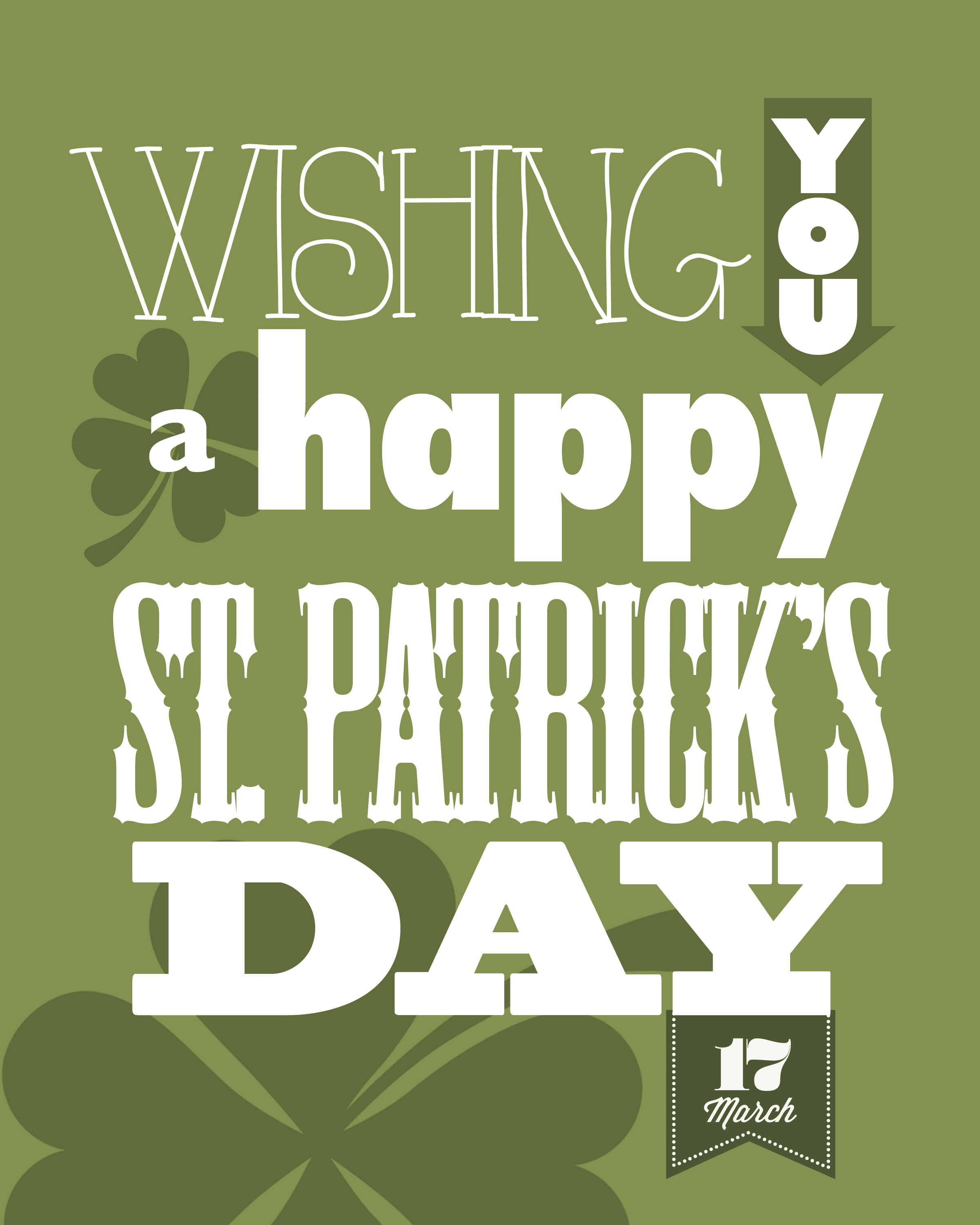 St. Patrick's Day Free Printables - How To Nest For Less™ - Free Printable St Patrick's Day Banner