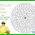 St Patrick's Day   Mazes   Free Printable   Free Printable St Patrick's Day Mazes