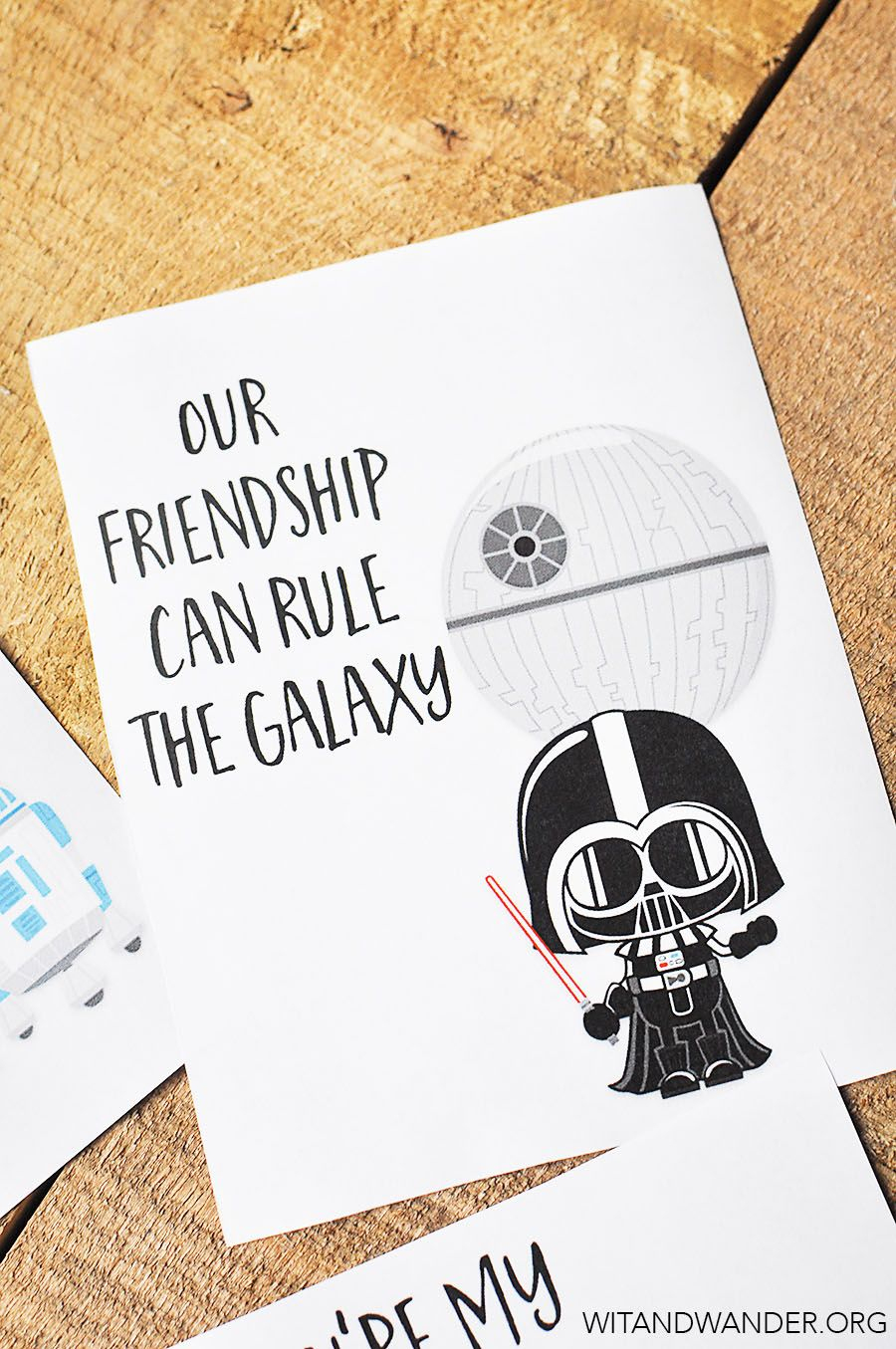Star Wars Valentine's Day Cards For Kids | Valentines | Pinterest - Star Wars Printable Cards Free