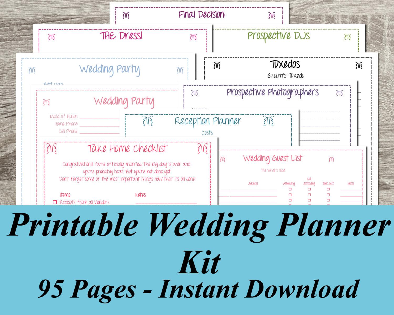 Stunning Wedding Planner Free 5 Online Wedding Planner Free Wedding - Free Printable Wedding Planner Book Online