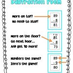 Subtraction Poem Freebie | Fun In Room 4B   Free Printable Poetry Posters